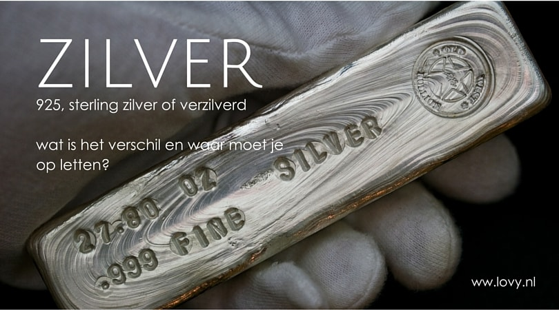Wat is sterling zilver 925